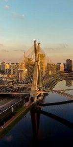 Ponte Estaiada | Ponte Octavio Frias de Oliveira - Sao Paulo - Brasil