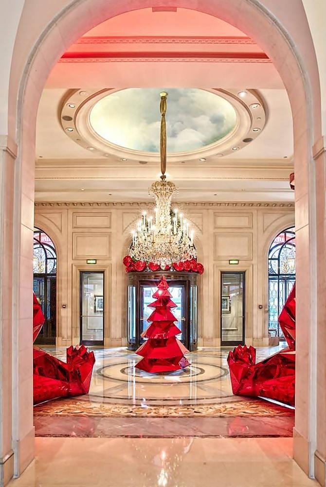 Hotel George V - Jeff Leatham