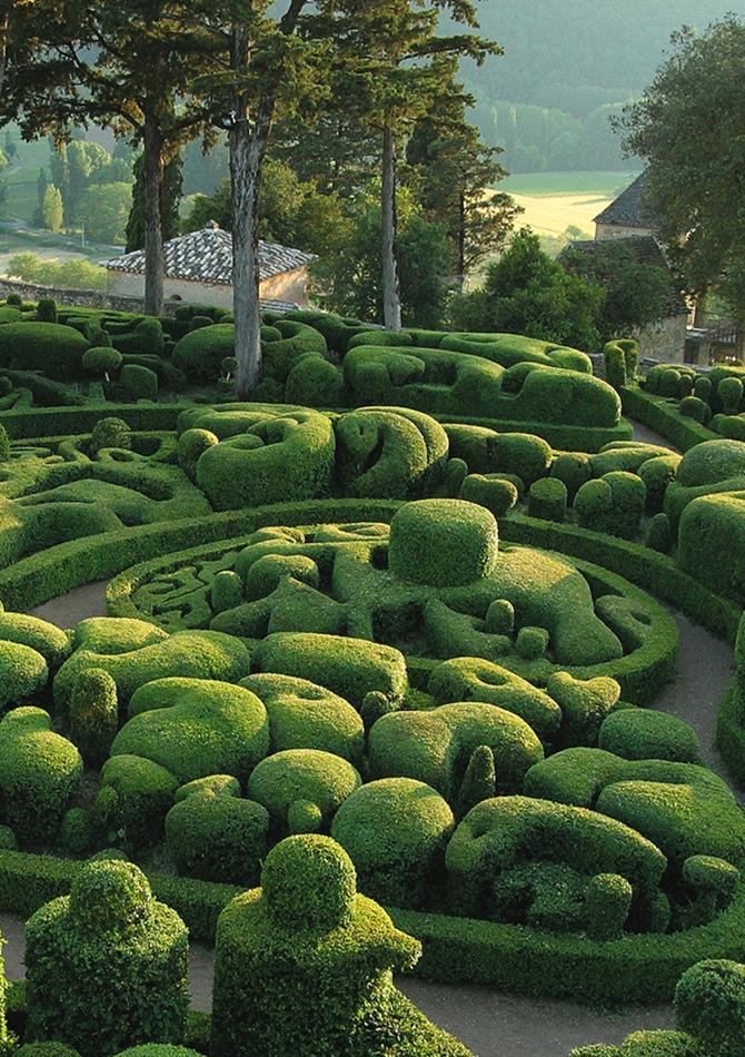 Les Jardins de Marqueyssac   Tempo da Delicadeza