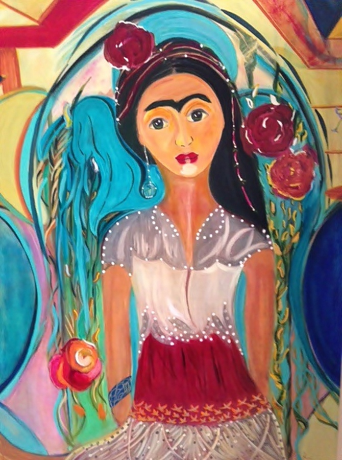 La Adelita final Flo Schell artist