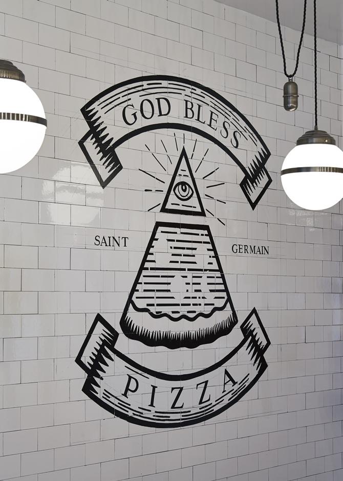 """""""In pizza we trust"""" - Tempo da Delicadeza"""