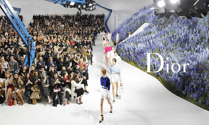 Christian Dior, Spring 2016 - Tempo da Delicadeza