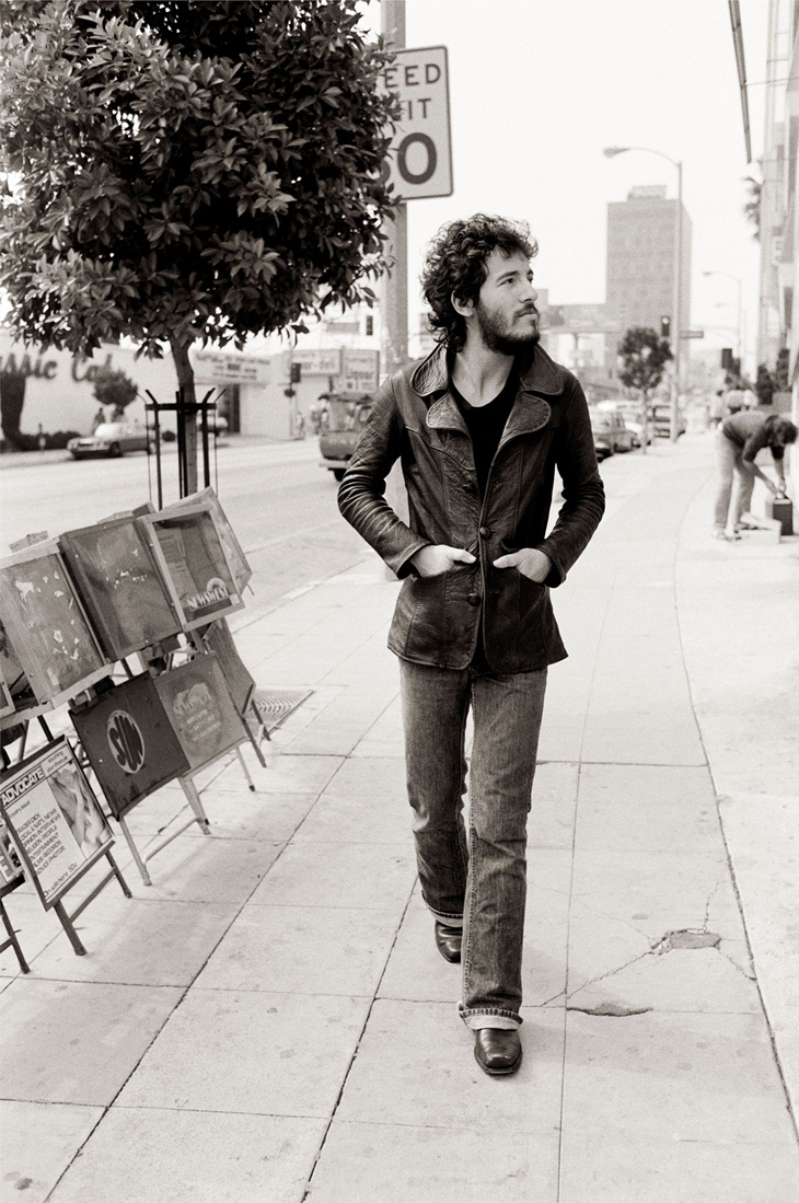 Bruce Springsteen by Terry O'Neill