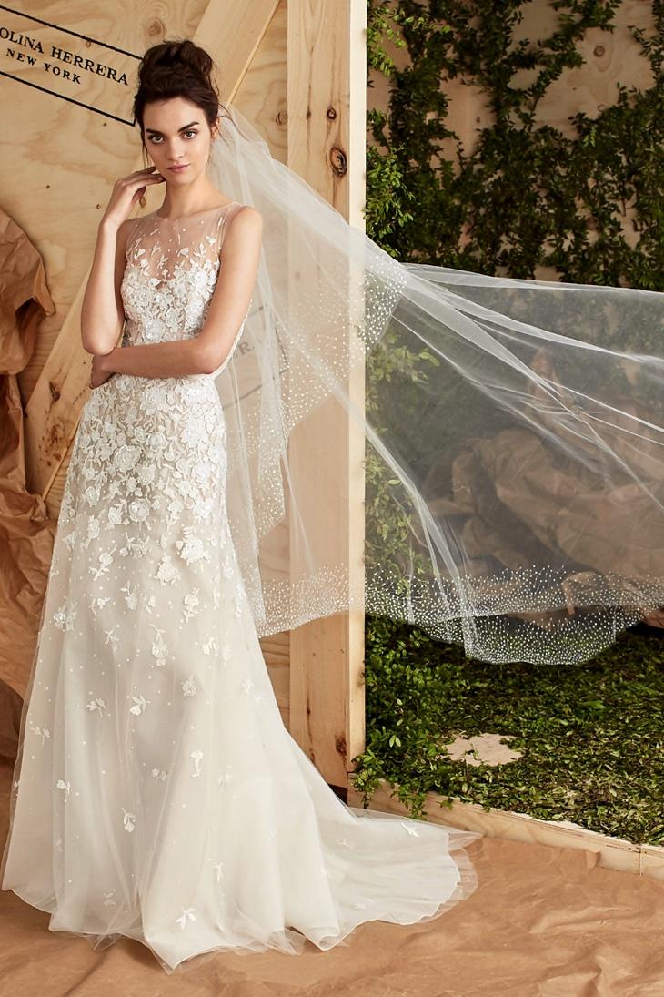 Carolina Herrera Bridal Spring 2017