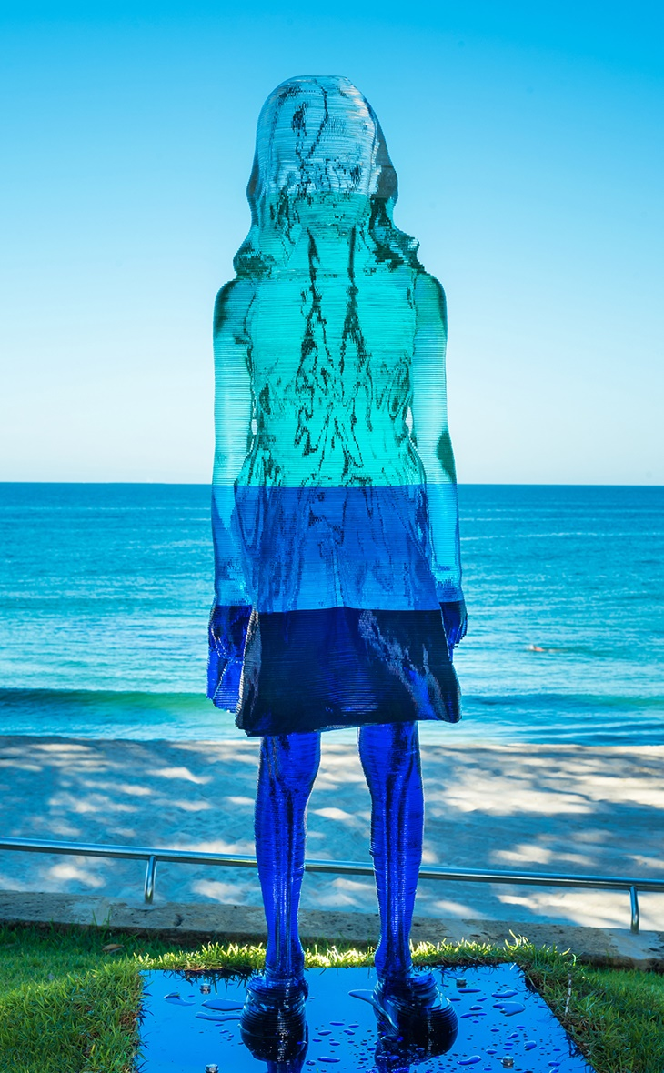 Alessandra Rossi, Untitled Coral (aqua), Sculpture by the Sea, Cottesloe 2017. Photo Richard Watson