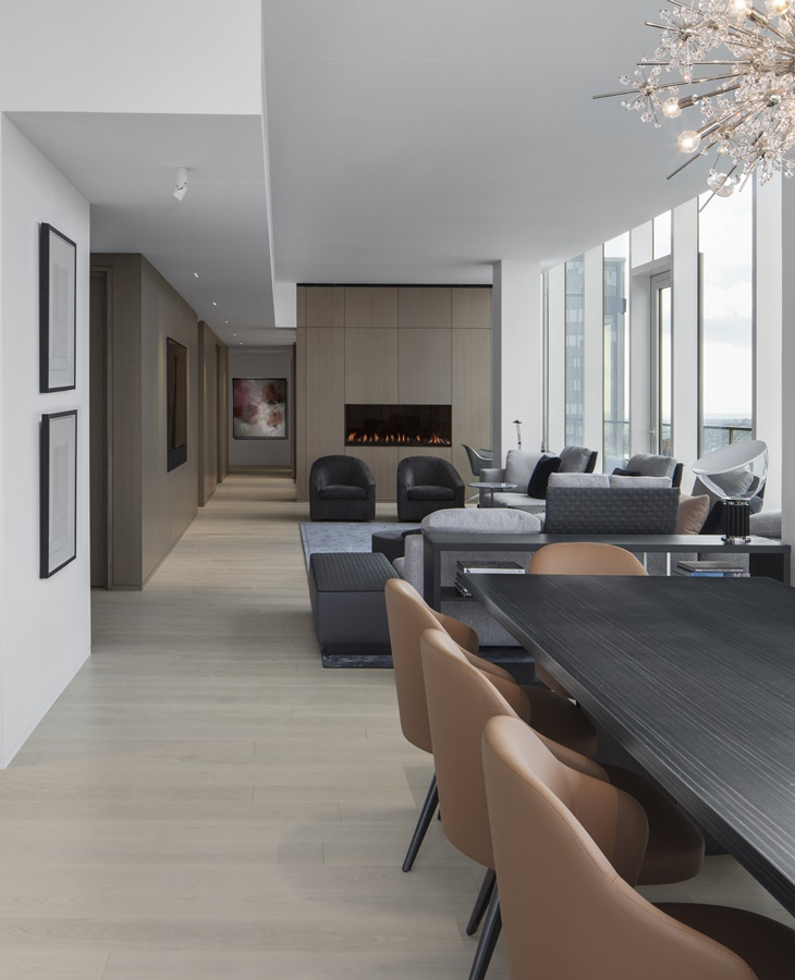 Penthouse by Desjardins Bherer