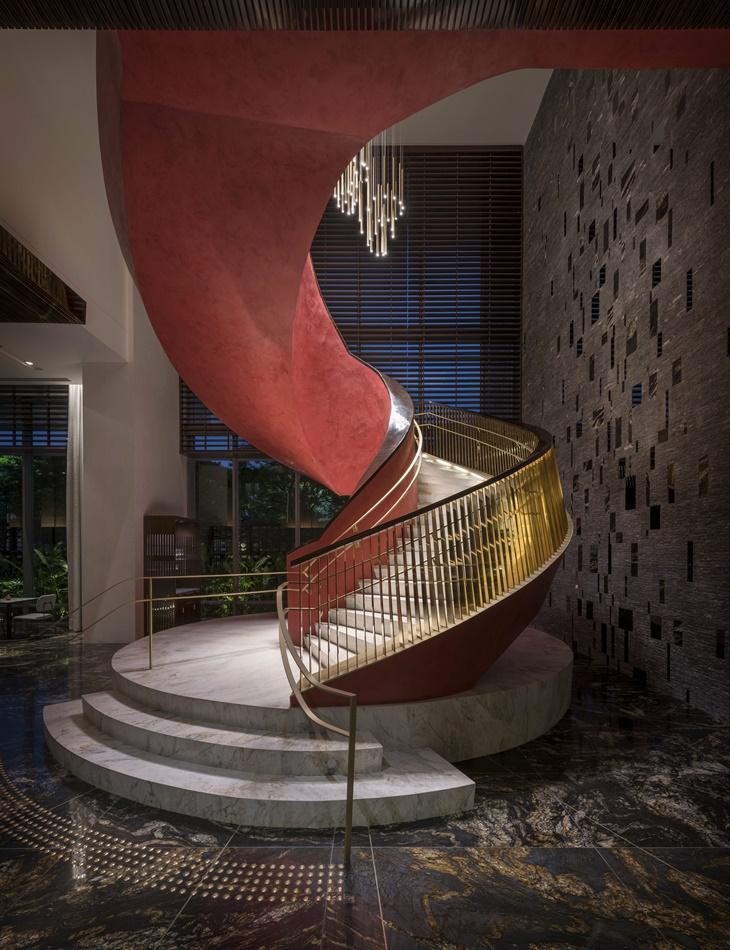 Escada em Espiral Four Seasons Hotel São Paulo