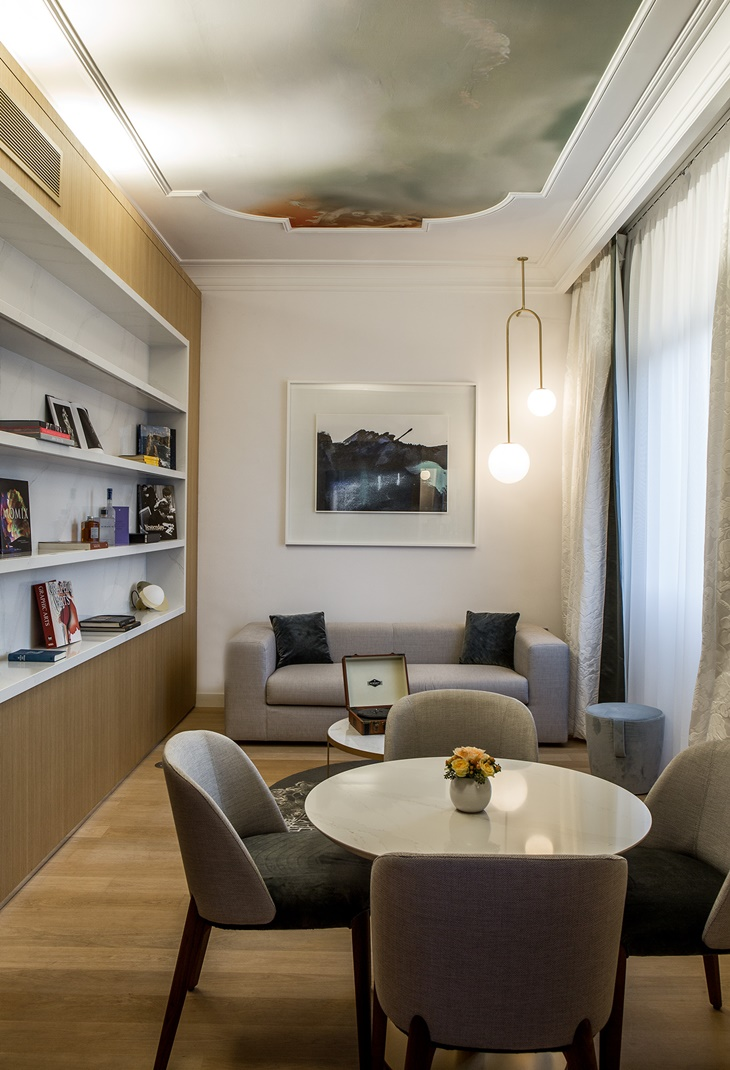 Jean-Philippe Nuel assina o projeto de renovação do novo Sofitel Villa Borghese