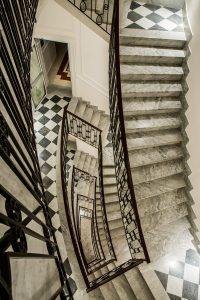 Escadaria Sofitel Villa Borghese