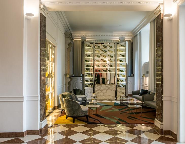 Lobby Sofitel Villa Borghese